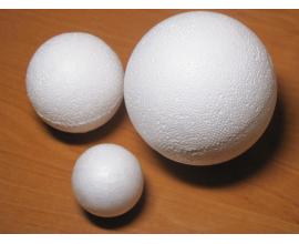 пенопластовый шар, шар 10 см