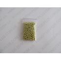 шарики золотые, 5 мм, 20 грамм