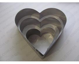 набор форм Сердце