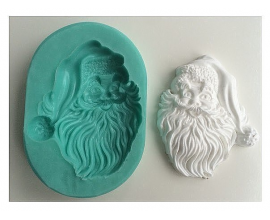 молд Голова Деда Мороза 2Д