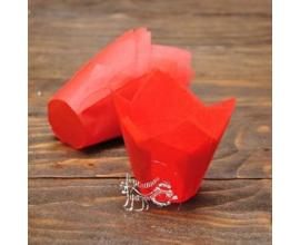 капсулы тюльпан красные, 10 шт