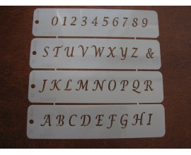 английский алфавит и цифры
