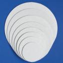 Подложка круглая белая, 23 см