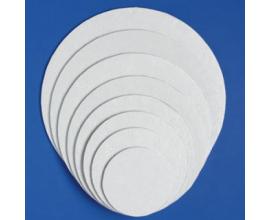 Подложка круглая белая