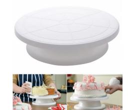 стойка для торта вращающаяся, h-7 см, 28 см