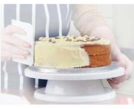 стойка для торта вращающаяся, h-9 см, 28 см