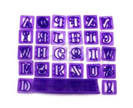 английский алфавит с держателем, h-2,2 см