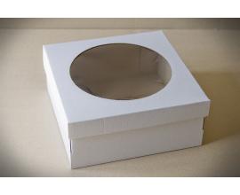 коробка для торта 250*250*110  (гофрокартон)