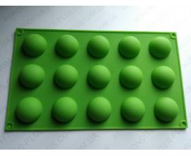 силиконовая форма сфера d-3,8 см