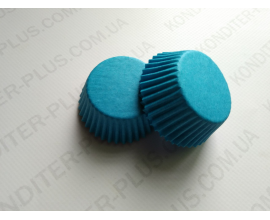 капсулы для кейкпопсов синяя, 4*2 см, 50 шт