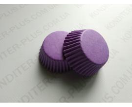 капсулы для кейкпопсов фиолетовая, 4*2 см, 50 шт