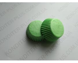 капсулы для кейкпопсов зеленая, 4*2 см, 50 шт