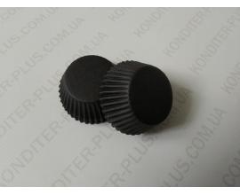 капсулы для кейкпопсов черная, 4*2 см, 50 шт