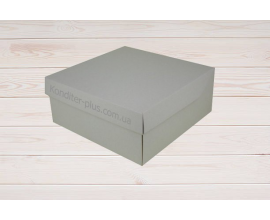 коробка для торта 26.7*26,7*11.5 см