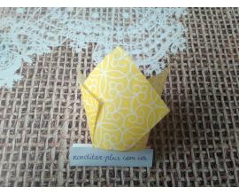 тюльпан желтая полоска, 50*80 мм, 10 шт
