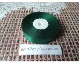 атласная лента зеленая , 2 см