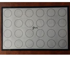 коврик стекловолокно двухсторонний, 30 *40 см