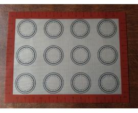 коврик бардовый, 30 *40 см