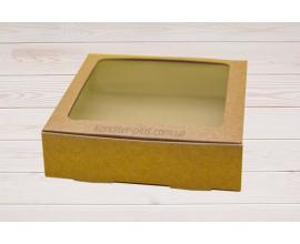 коробка для макаронсов. зефиров и др. (крафт)