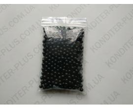 шарики черный жемчуг, 5-7 мм, 50 грамм