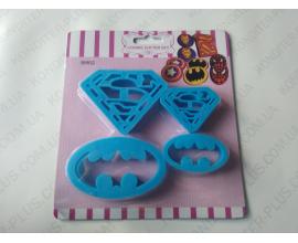 вырубка-штамп Бэтмен супермен