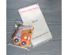 пакетики с клейкой лентой, 100 шт, 20*15 СМ