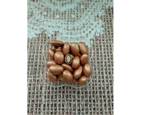 миндаль в шоколаде Бронзовый (Турция), 50 грамм