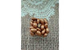миндаль в шоколаде Бронзовый (Турция), 50 грамм, 2.5см