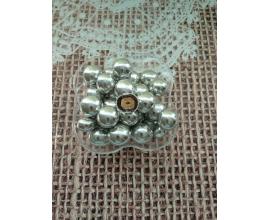 лесной орех в шоколаде (серебро),  d-2см, 50 грамм