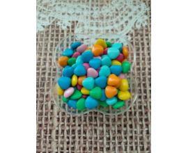 разноцветные  сердца №2, 50 грамм
