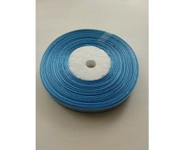 атласная лента голубая, 0,9 см
