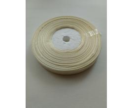 атласная лента слоновая кость, 0,9 см