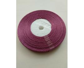 атласная лента фиолетово-розовая, 0,6 см