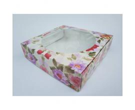 коробка для зефира и др. сладостей, 20*20*5 см