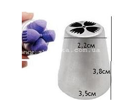 насадка василек, низ 3.5 см