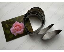 набор роза, металл