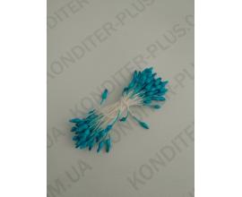 тычинки голубые с острым кончиком, 50 шт