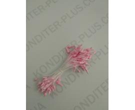 тычинки розовые с  острым кончиком, 50 шт