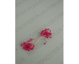 тычинки ярко-розовые