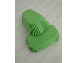формочки для эклеров зеленые 80*35. 50 шт