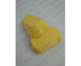 формочки для эклеров желтые 80*35. 50 шт