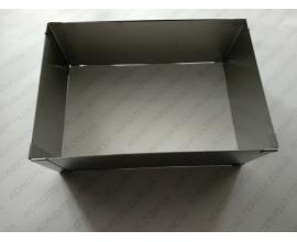 форма раздвижная прямоугольная-квадратная, h-10 см