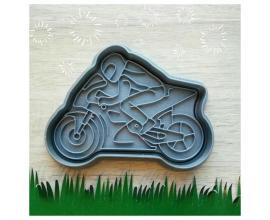 мотоциклист длина 12 см
