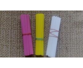 палочки для кейкпопсов розовые, 50 шт