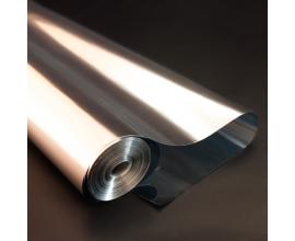 пленка металлизированная серебро, 60 см 300 грамм