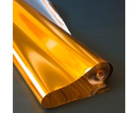 металлизированная пленка золото, 60 см, 300 грамм