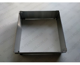 форма квадрат, Н - 5 см, 15*15. 27,7*27.5, 27,5*15