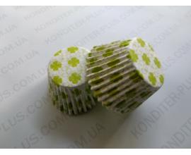 формочка для кексов салат.цветочек, 4,5*4 см, 70 шт