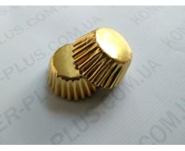 формочки для конфет золото, 100 шт, 2,5*1,7 см