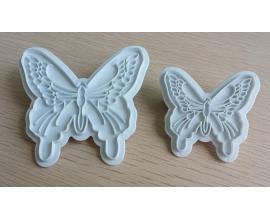набор бабочек из 2